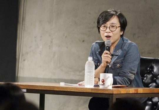 손희정 여성문화이론연구소 연구원 ⓒ이정실 사진기자