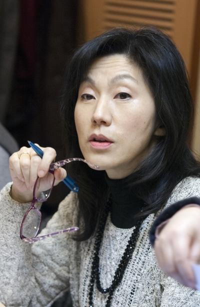 손지애 이화여대 국제대학원 교수 ⓒ이정실 사진기자