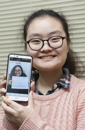 '청소년 페미니즘 모임'을 만들어 이끌어가고 있는 지혜씨. ⓒ이정실 사진기자
