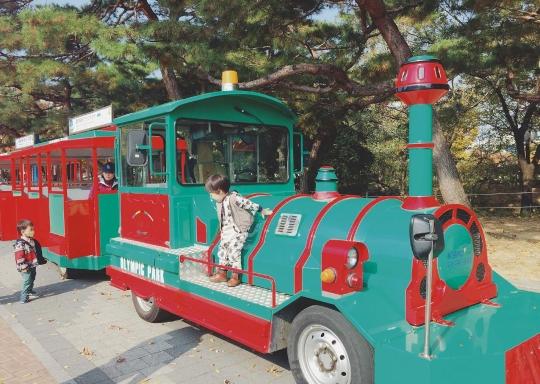 소마미술관 근처 호돌이열차