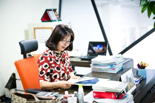 윤소라 유아이 대표 ⓒ유아이