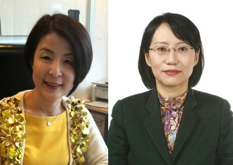 (왼쪽부터) 박은하 공공외교대사, 백지아 국립외교원 외교안보연구소장 ⓒ외교부