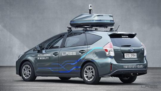 네이버의 자율주행기술 개발용 차량. ⓒ네이버랩스