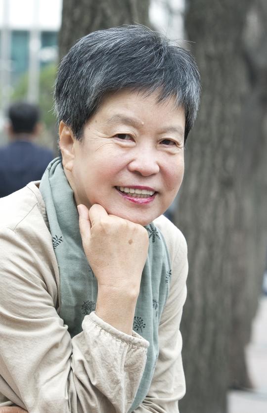 27일 만난 여성학자 박혜란은 '나는 페미니스트'라고 당당히 선언했다. ⓒ이정실 여성신문 사진기자