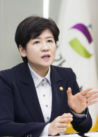 강은희 여가부장관 ⓒ이정실 여성신문 사진기자