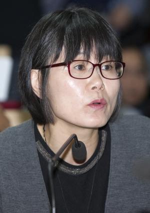 김민문정 한국여성민우회 상임대표 ⓒ이정실 여성신문 사진기자