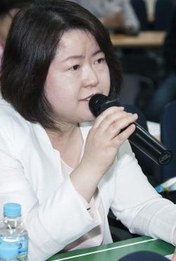 여성신문 박길자 부장 ⓒ이정실 여성신문 사진기자