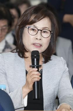 한국여성유권자연맹 이경숙 충북연맹회장 ⓒ이정실 여성신문 사진기자