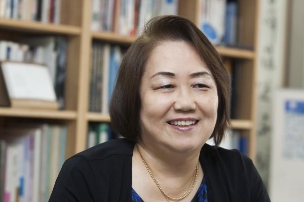 이상경 한국방정환재단 이사장 ⓒ이정실 여성신문 사진기자