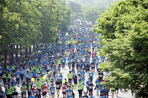 지난해 열린 '제16회 여성마라톤대회' ⓒ성혜련 사진 객원기자
