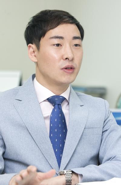 금성출판사 김성훈 부사장 ⓒ이정실 여성신문 사진기자