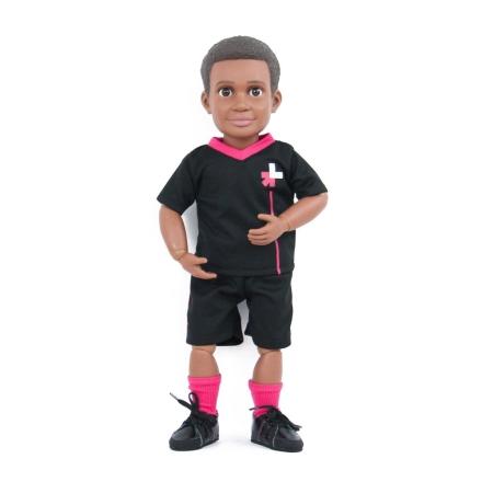 흑인 어린이를 형상화한 히포시 인형 '빌리'. ⓒ보이스토리