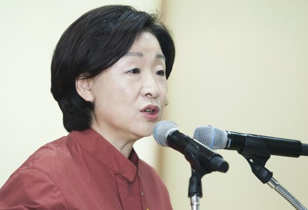 심상정 정의당 상임대표 ⓒ이정실 여성신문 사진기자