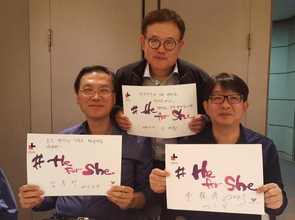좌로부터 이영홍, 김종하, 이근우 ⓒ권은주 기자