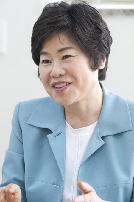 이기화 한국여성경제인협회 서울지회장 ⓒ이정실 여성신문 사진기자
