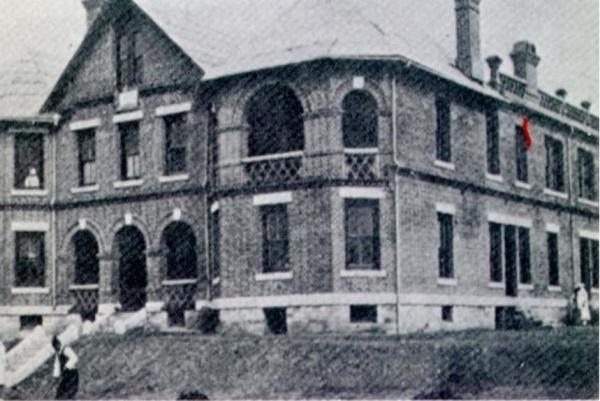 1908년 신축한 평양의 광혜여원 ⓒ한국여자의사회