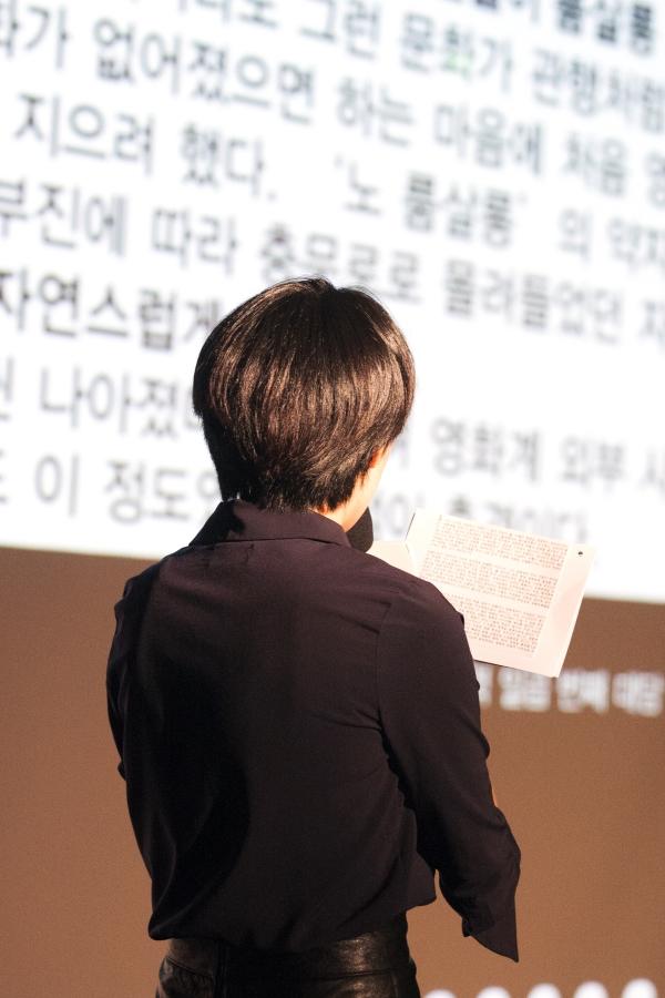 영화감독 '연홍' ⓒ이정실 여성신문 사진기자