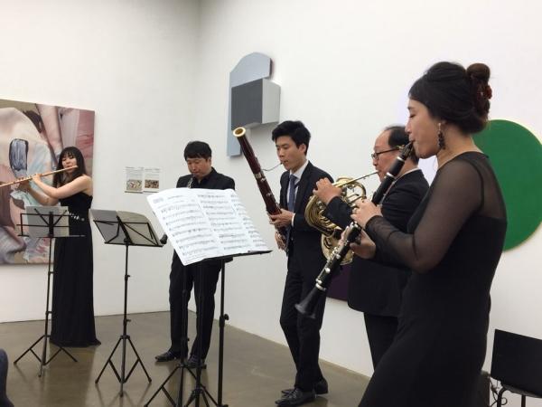 26일 오후 서울 강남구 압구정로 네이쳐포엠빌딩에서 린덴바움 아츠퍼스트 콘서트가 열렸다.