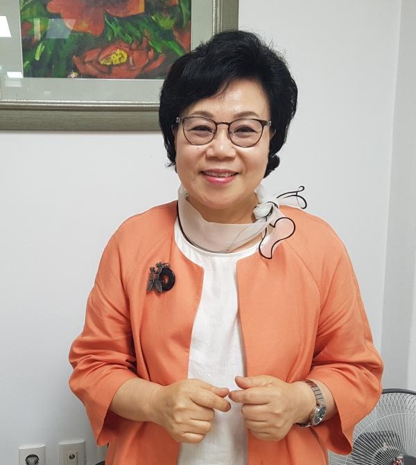 최순남 먹는물부산시민네트워크 공동대표 ⓒ김수경 기자