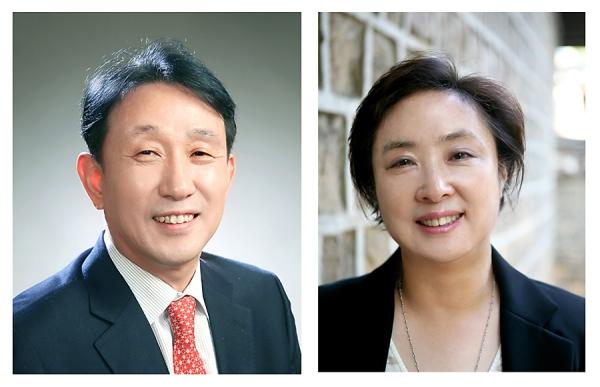 심봉석 이화의료원장과 정혜원 이대목동병원장 ⓒ이화의료원·이대목동병원