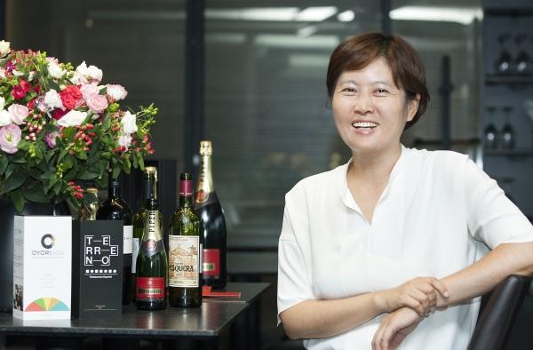 지난 10일 서울 북촌의 스페인 레스토랑 '떼레노'에서 만난 이지혜 대표. ⓒ이정실 여성신문 사진기자
