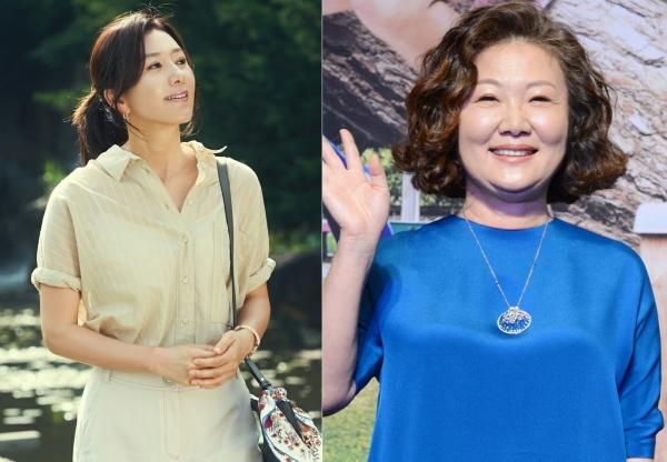 배우 김희애(왼쪽)와 김해숙이 영화 '허스토리'(가제)로 만난다. ⓒ영화배급사 NEW 제공, 뉴시스·여성신문