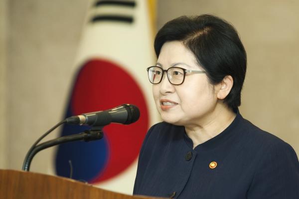 정현백 여성가족부 장관 ⓒ이정실 여성신문 사진기자
