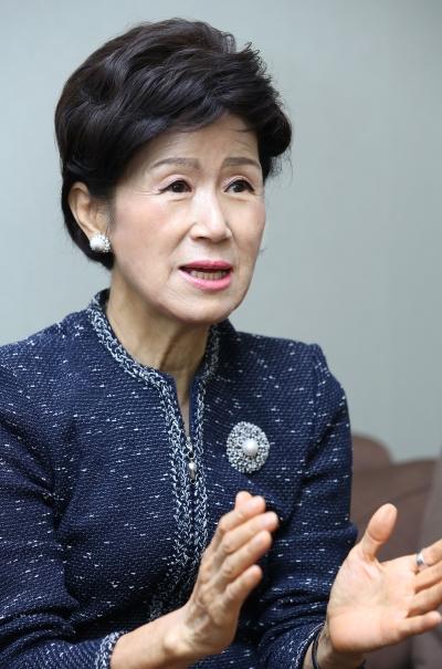 손병옥 세계여성이사협회 한국지부 대표 ⓒ이정실 여성신문 사진기자