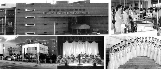 (왼쪽 상단 시계방향) 기술교육으로 유명한 여성복지관. 큐슈여대에서 한국 전통요리를 시연하는 국제문화교류단. 인천 문화회관 합창단. 여성팝스오케스트라. 인천 문화를 이끄는 여성문화회관.