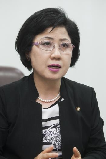 최도자 국민의당 의원 ⓒ이정실 여성신문 사진기자