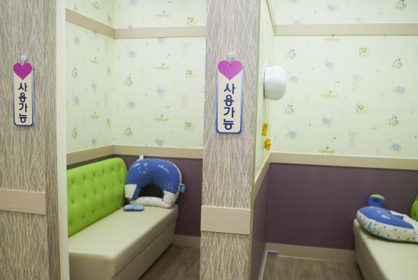 모유수유실 내부 (사진은 해당 기사와 관련없음) ⓒ이정실 여성신문 사진기자