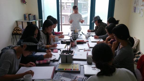 '문화기획달'이 연 아트스쿨 풍경 ⓒ문화기획달 제공