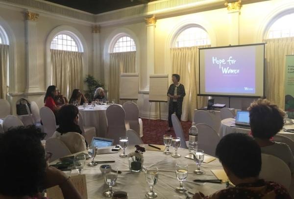 한국여성재단은 지난달 24~26일 스리랑카 콜롬보에서 열린 '프로스페라(Prospera·세계여성재단네트워크) 콘퍼런스'에 참여했다. ⓒ한국여성재단