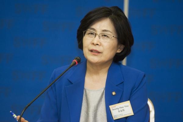 유승희 의원 ⓒ이정실 여성신문 사진기자