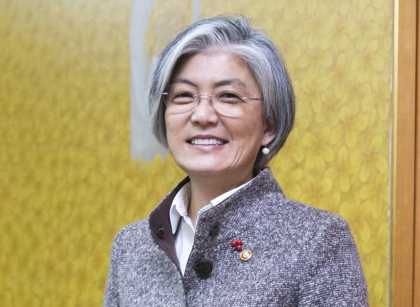 강경화 외교부 장관 ⓒ이정실 여성신문 사진기자