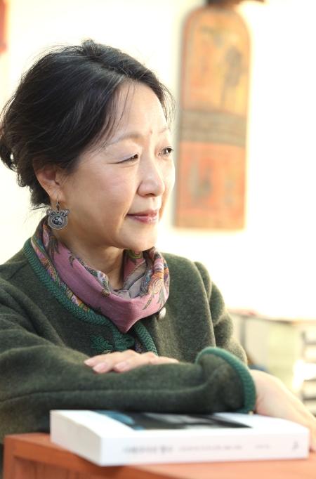 김진영 연세대 노어노문학과 교수 ⓒ이정실 여성신문 사진기자