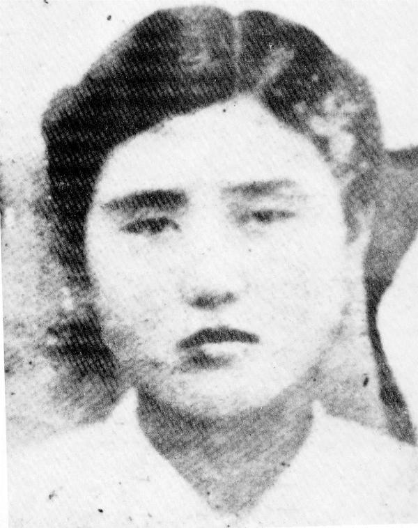 1909년 13세 때의 김명순