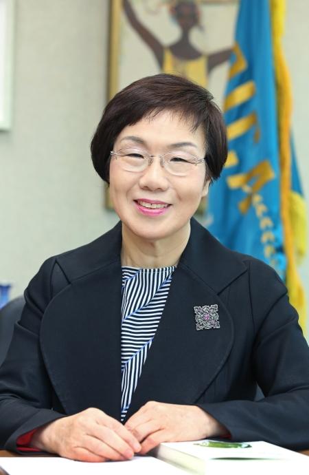 이미경 한국국제협력단 이사장 ⓒ이정실 여성신문 사진기자
