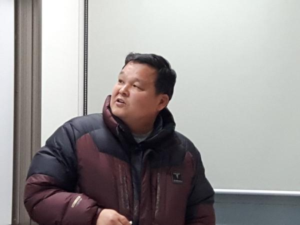윤영석 땅끝황토마을 친환경농법인 전무