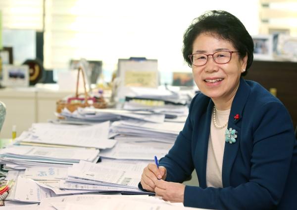 홍미영 인천 부평구청장 ⓒ이정실 여성신문 사진기자