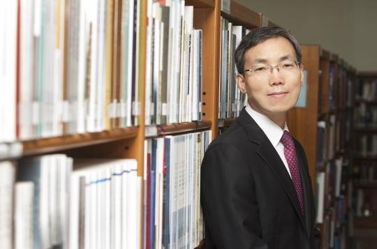 임원선 국립중앙도서관 관장 ⓒ이정실 사진기자