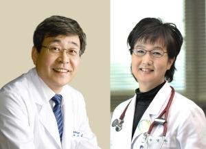 김승철(왼쪽) 신임 이대 의무부총장 겸 의료원장과 유경하 신임 이대 목동병원장.