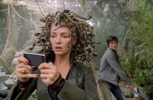 현대판으로 재해석된 메두사의 이야기를 다룬 영화 '퍼시잭슨과 번개도둑의' 한 장면.