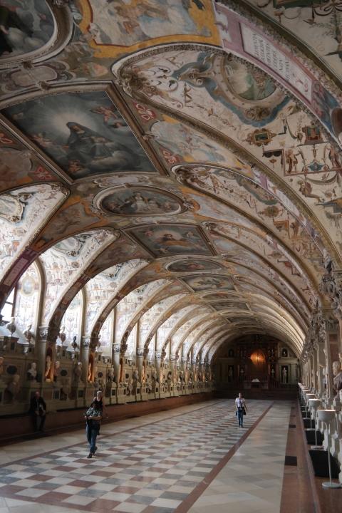 바이에른왕의 공식 주거지였던 레지덴츠 궁. ⓒ박선이