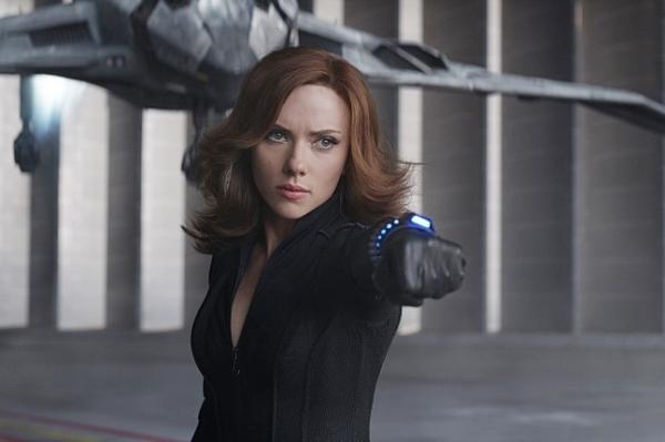 영화 '캡틴 아메리카: 시빌 워' 속 블랙 위도우