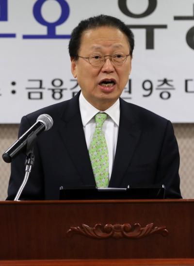 최흥식 금융감독원장 ⓒ뉴시스·여성신문