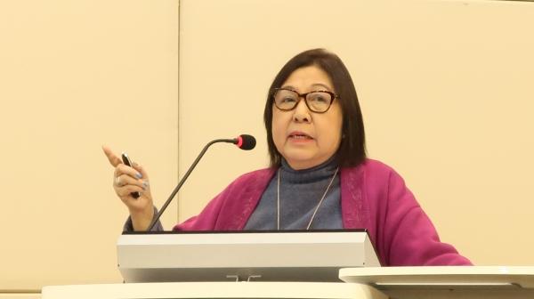 오로라 드 디오스 필리핀 미리암대학 교수 ⓒ이화여대 아시아여성학센터