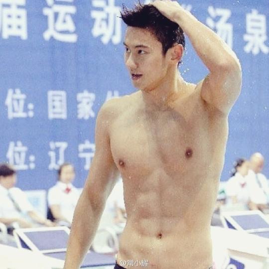 중국의 자유형 부문 국가대표 수영선수 닝제타오 ⓒ바이두