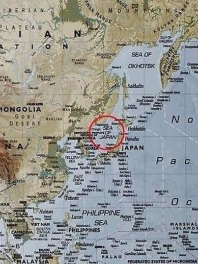 이케아 일본해 표기 논란