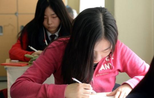 대구 경신고에 이어 서울 은광여고가 수능 만점자 4명을 배출했다. 사진은 기사와 무관. ⓒ뉴시스·여성신문